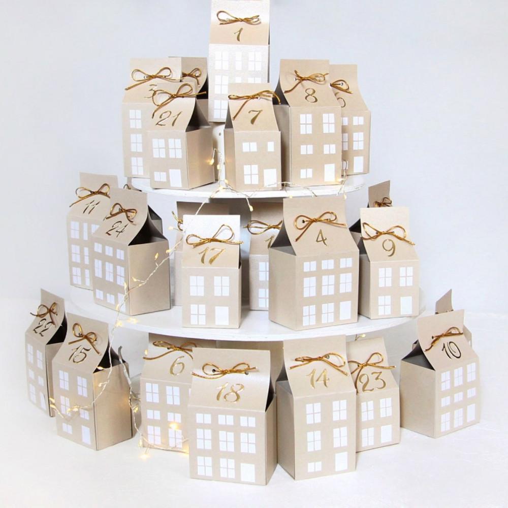 DIY Advent calendar kit - beige