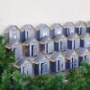 DIY Advent calendar kit Christmas village - blue