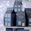 DIY Advent calendar kit - turquoise