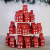 DIY Advent calendar kit - red color