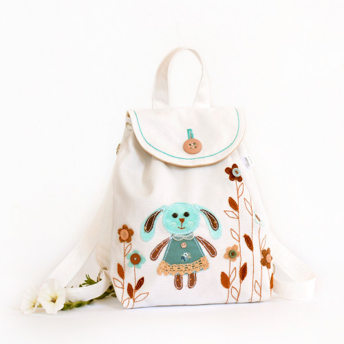 Applique backpack Bunny (collection 2)