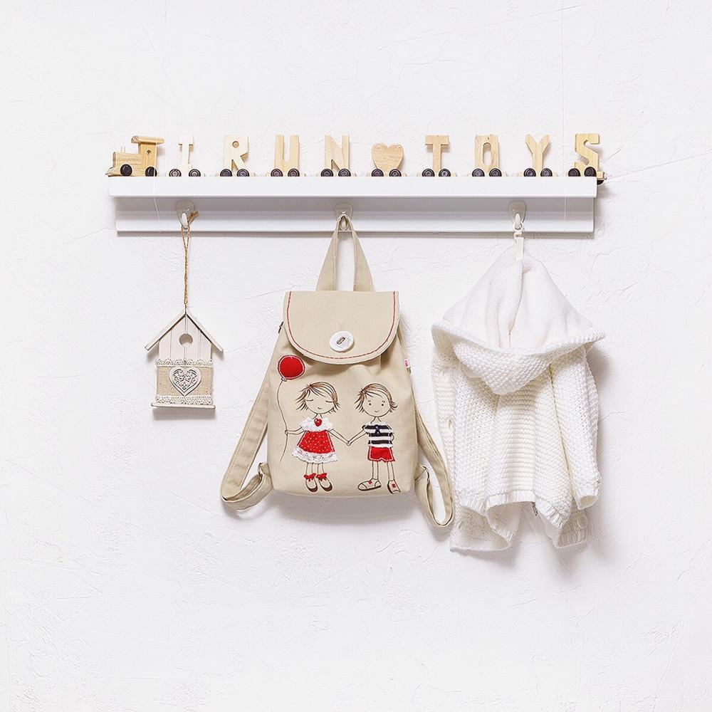 Applique backpack Love