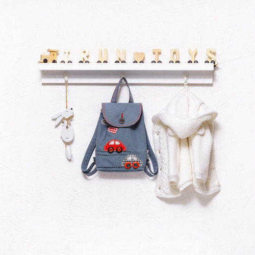 Applique backpack Cars (collection 1)