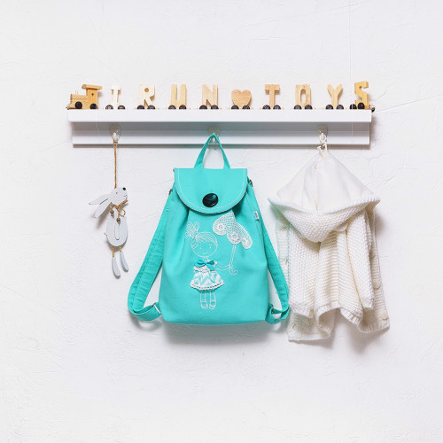 Backpack with embroidery Fashion lady (collection 1)