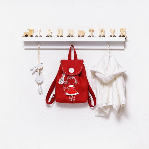 Backpack with embroidery Doll (collection 1)
