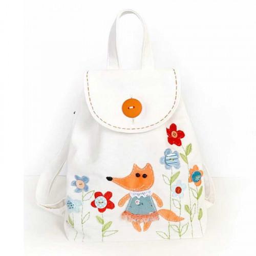 Girls Backpack sewig kit Fox