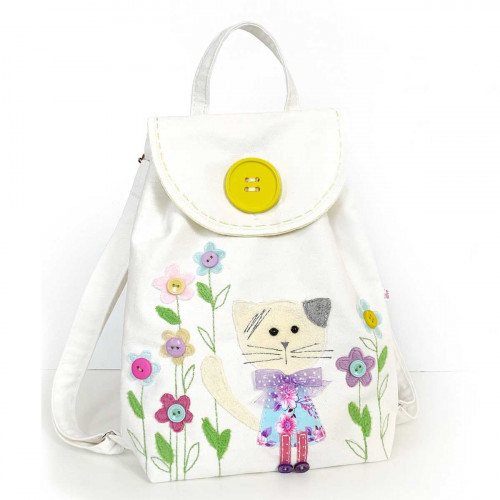 Toddler Backpack sewing kit Cat