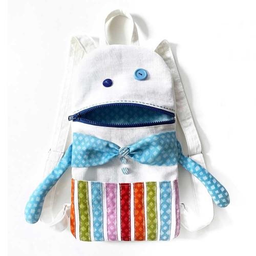 Toddler backapck sewing kit - Funny Monster