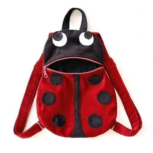 Toddler backapck Sewing Kit - Ladybug