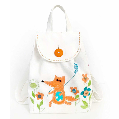 Toddler Backpack sewing kit Fox