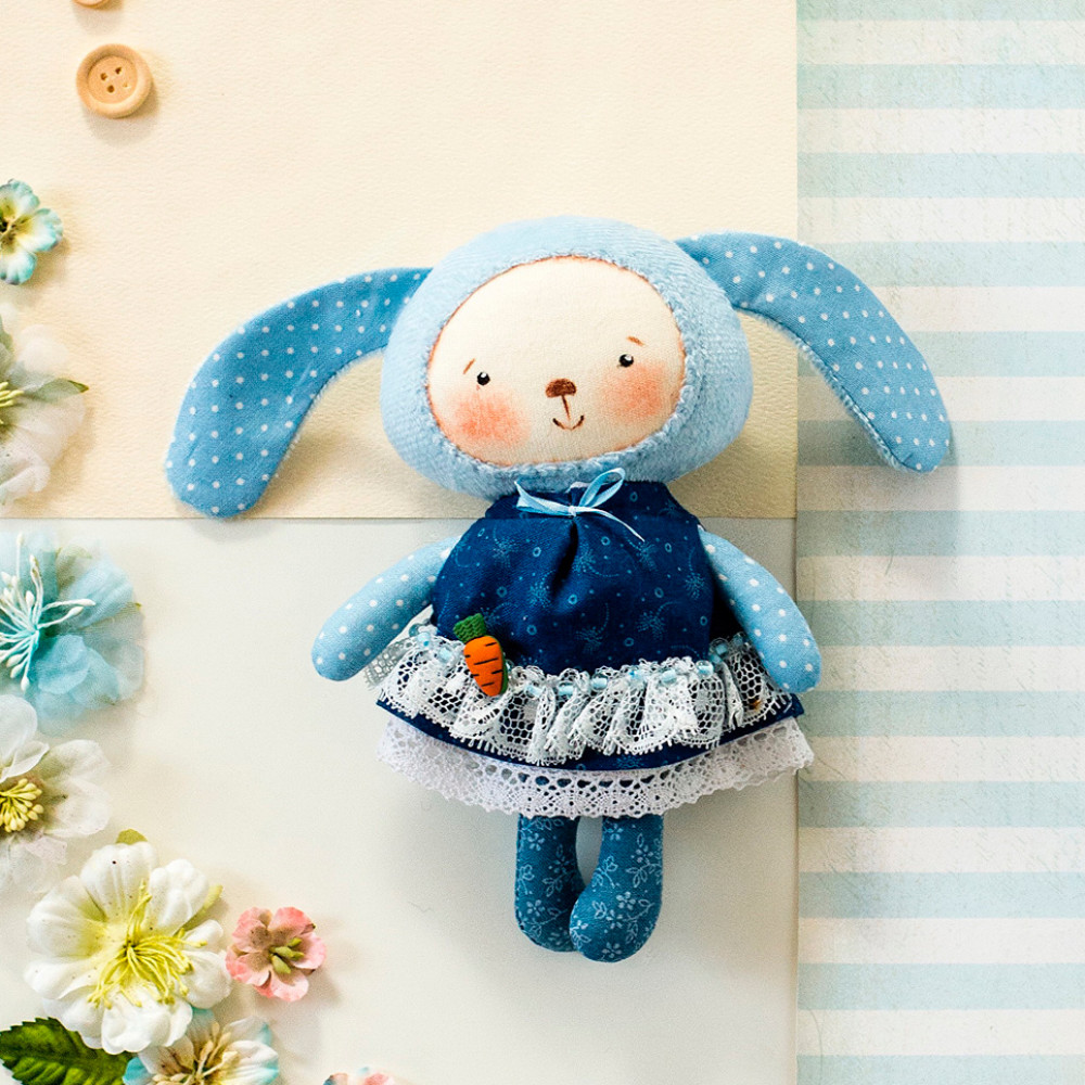 Handmade Bunny in a dress collection 1