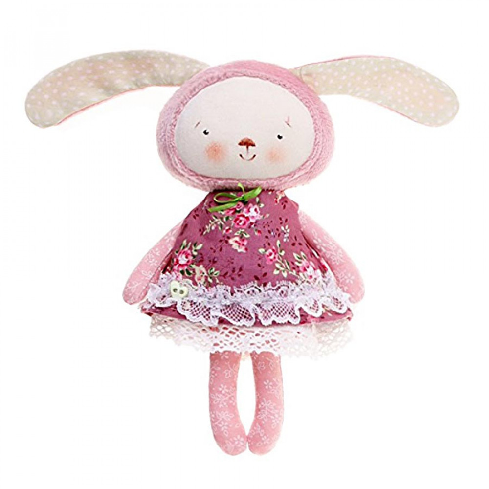 Handmade Bunny in a dress collection 4