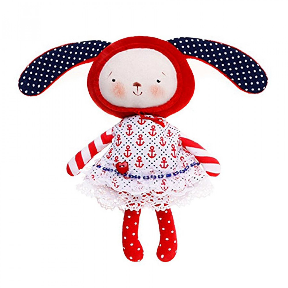 Handmade Bunny in a dress collection 5