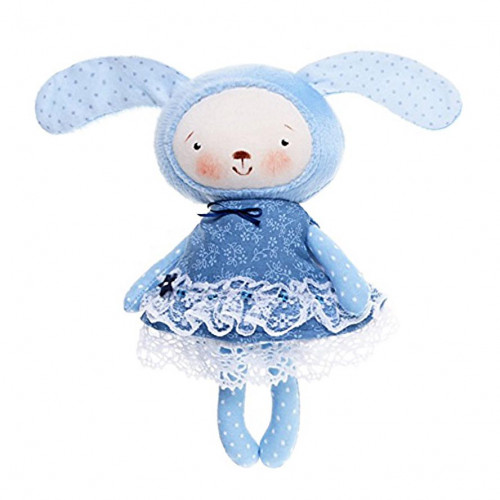 Handmade toy Bunny in a dress