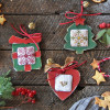 Wooden Christmas Decorations - Style 4