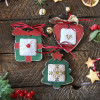 Wooden Christmas Decorations - Style 3