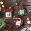 Wooden Christmas Decorations - Style 2