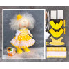 Doll making kit - Yellow (collection 1) - Style 1