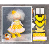 Doll making kit - Yellow (collection 1) - Style 2