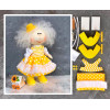 Doll making kit - Yellow (collection 1) - Style 3