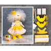 Doll making kit - Yellow (collection 1) - Style 4
