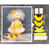 Doll making kit - Yellow (collection 1) - Style 6