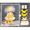 Doll making kit - Yellow (collection 1) - Style 7