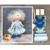 Doll making kit - Blue (collection 1) - Style 1