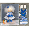 Doll making kit - Blue (collection 1) - Style 2