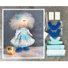 Doll making kit - Blue (collection 1) - Style 5