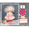 Doll making kit - Pink (collection 1) - Style 1