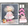 Doll making kit - Pink (collection 1) - Style 2