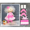 Doll making kit - Pink (collection 1) - Style 3