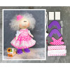 Doll making kit - Pink (collection 1) - Style 6