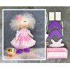 Doll making kit - Pink (collection 1) - Style 8