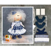 Doll making kit - Blue (collection 1) - Style 6