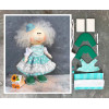 Doll making kit - Turquoise (collection 1) - Style 1