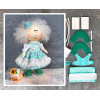 Doll making kit - Turquoise (collection 1) - Style 2