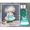Doll making kit - Turquoise (collection 1) - Style 3