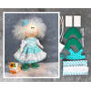Doll making kit - Turquoise (collection 1) - Style 4