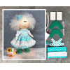 Doll making kit - Turquoise (collection 1) - Style 5