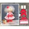 Doll making kit - Red (collection 1) - Style 1