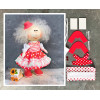 Doll making kit - Red (collection 1) - Style 2