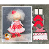 Doll making kit - Red (collection 1) - Style 3