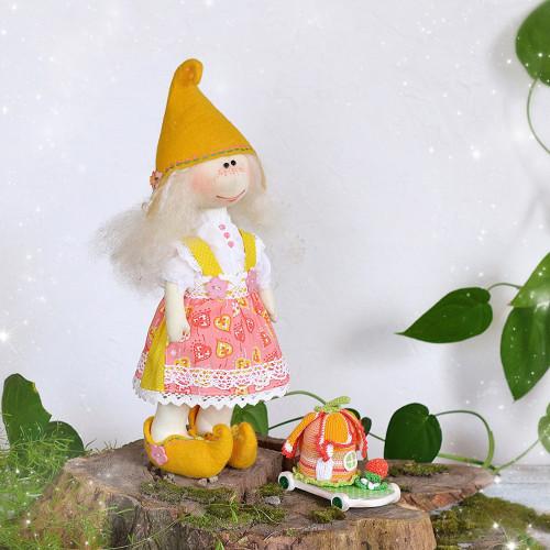 Elf doll Elving