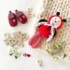 handmade toy for sleeping newborn Ladybug