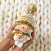Bunny in a hat with a pompon (collection 5)