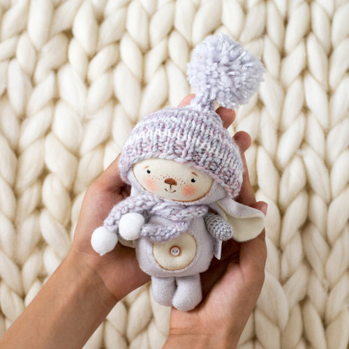 Bunny in a hat with a pompon (collection 3)