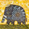 Handmade Elephant oil painting - Style 1