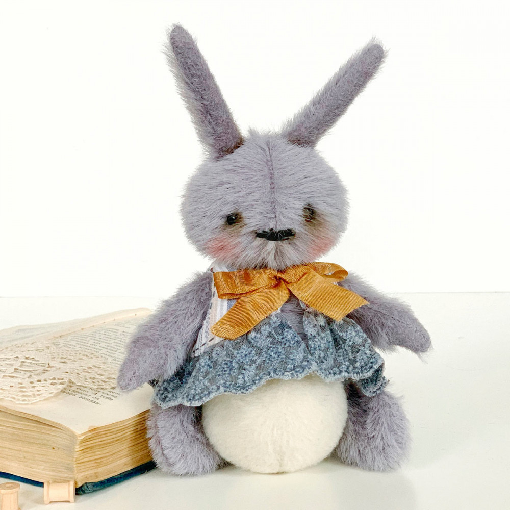 Designer Teddy Bunny soft toy